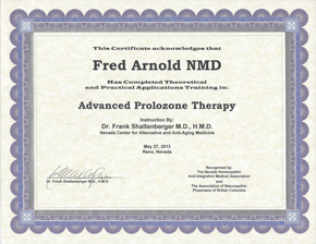 Advanced Prolozone Therapy Certification