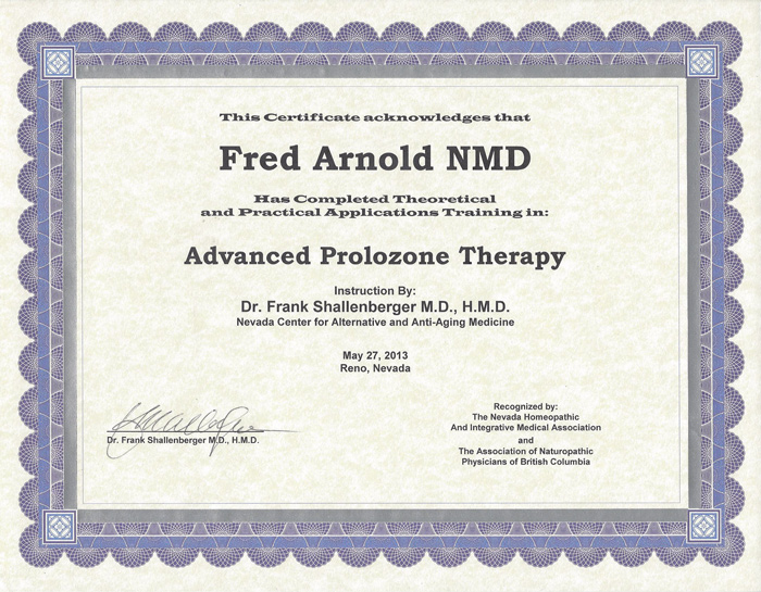 About Dr  Fred Arnold and Desert Pain Relief & Wellness Center