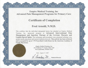 Empire Medical Training Certification