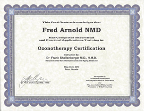 Ozonotherapy Certification