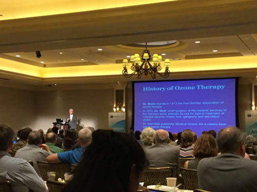 Dr  Arnold attends Foundations for Healing Conference